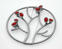 Brooch: Artery Series