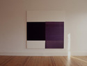Exposed Painting, Deep Violet, Charcoal Black